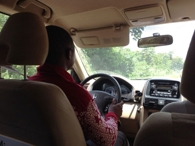 Sule driving us north